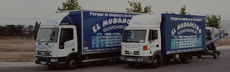camiones mudanza el mudancero